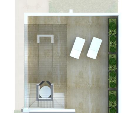 Roof de la casa _