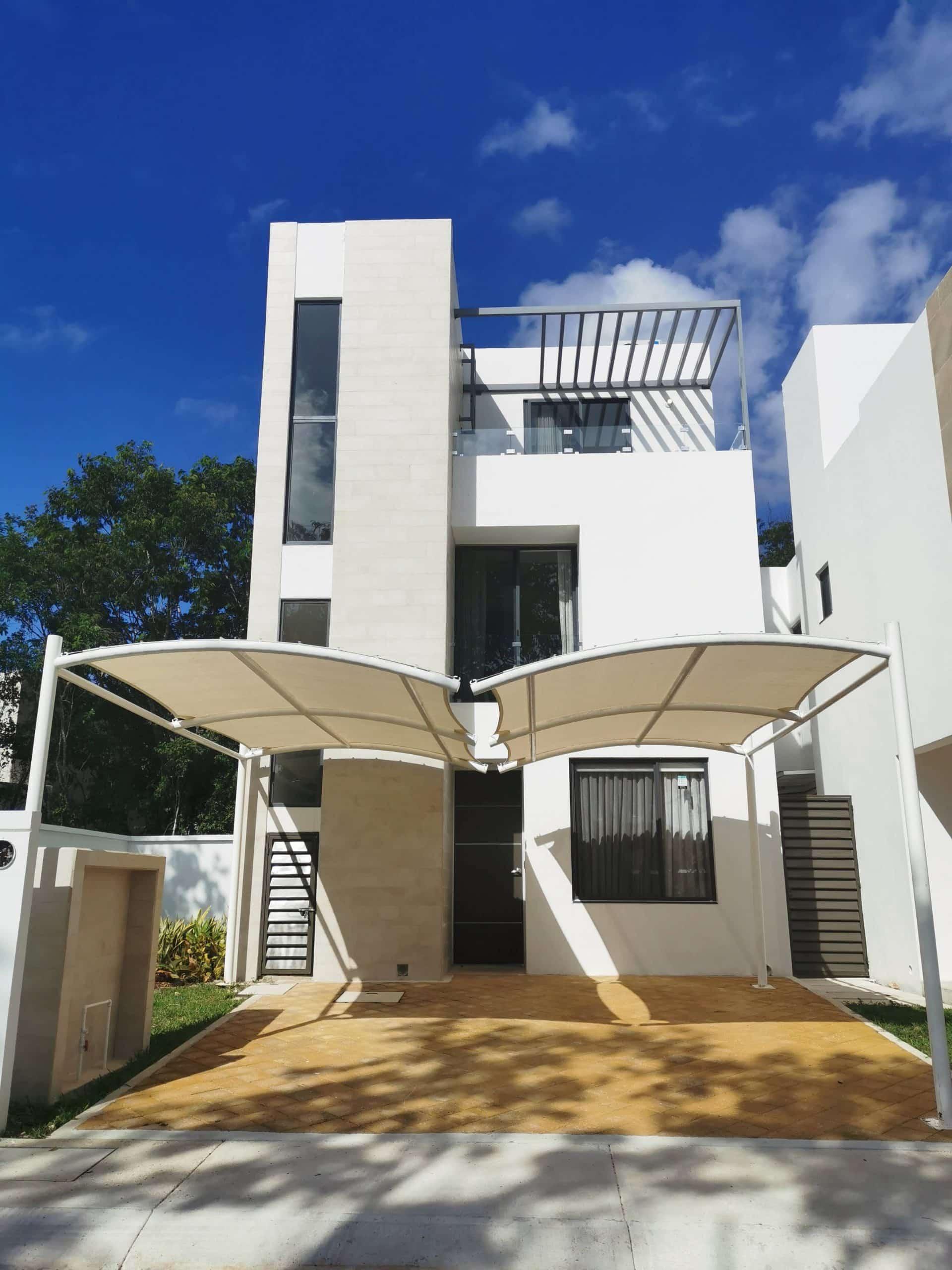 Casa Recinto en Venta Tres Recamaras Playa del Carmen